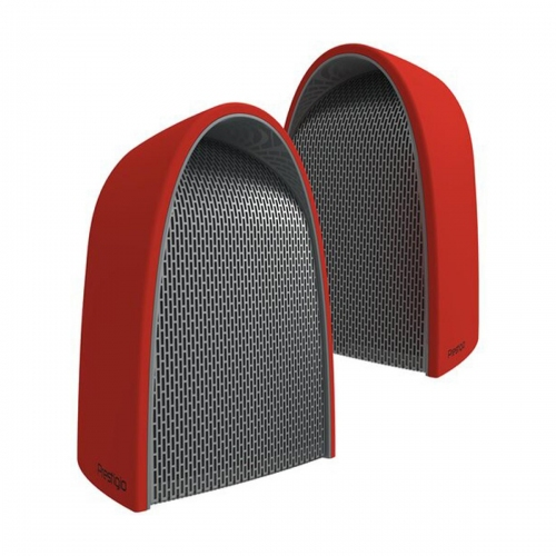 Prestigio Supreme, 2-in-1 Bluetooth Speakers with Magnets - Red - PSS116SRD