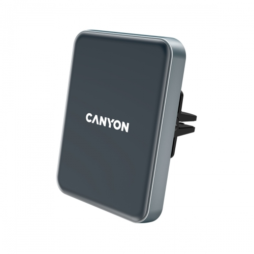 Canyon Car Ηolder and Wireless Charger C-15, USB-C, 15W - CNE-CCA15B
