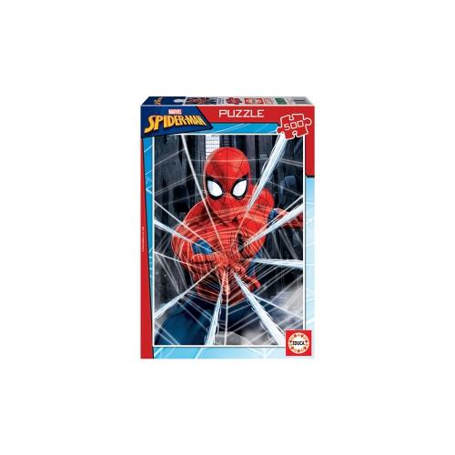 EDUCA ΠΑΖΛ 500Τ. 48x34εκ. SPIDER-MAN 18486
