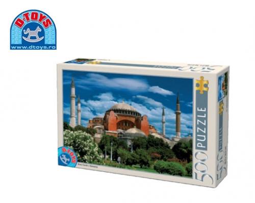 D-TOYS ΠΑΖΛ 500Τ 48x34cm HAGIA SOPHIA ISTANBUL TURQUIE