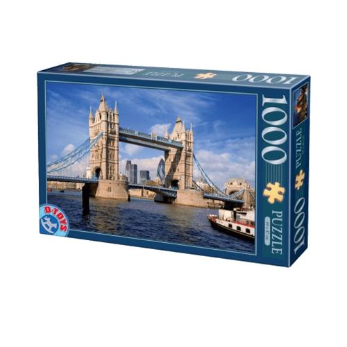 D-TOYS ΠΑΖΛ 1000Τ 68x47cm TOWER BRIDGE LONDRES