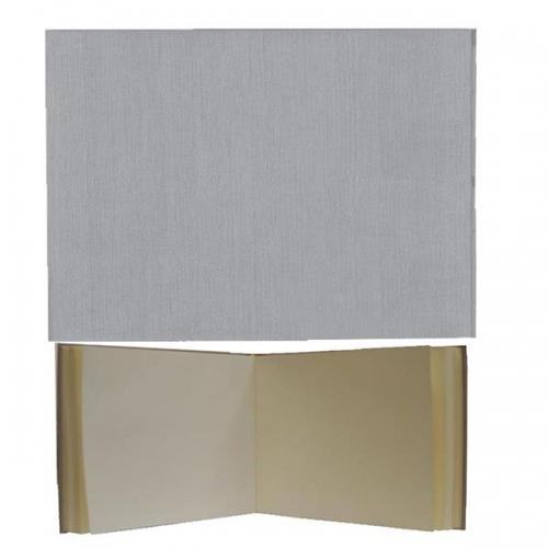 Νext βιβλίο εντυπώσεων λευκό, Α4 landscape, 80 σαμουά φύλλα 120γρ.