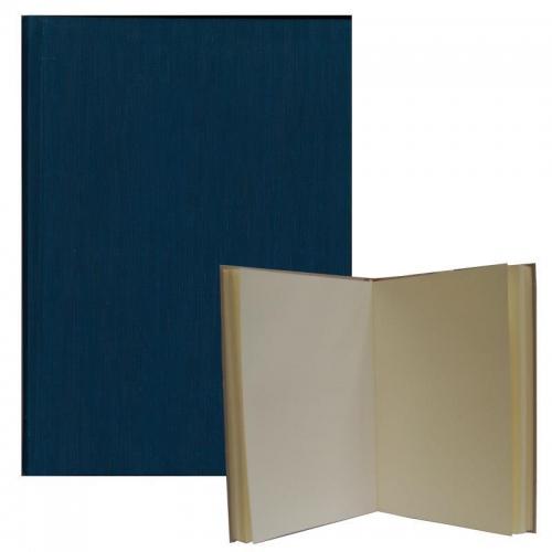 Νext βιβλίο εντυπώσεων μπλε ,Α4 portrait, 80 σαμουά φύλλα 120γρ.