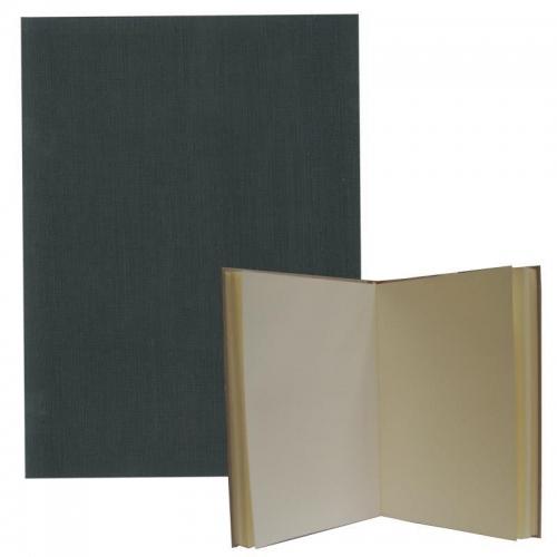 Νext βιβλίο εντυπώσεων γκρι ,Α4 portrait, 80 σαμουά φύλλα 120γρ.