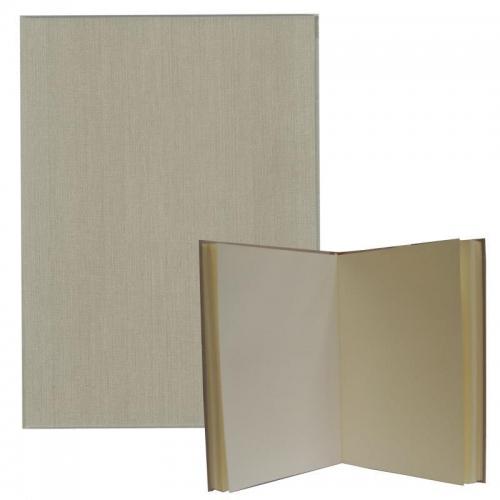 Νext βιβλίο εντυπώσεων μπεζ , Α4 portrait, 80 σαμουά φύλλα 120γρ.