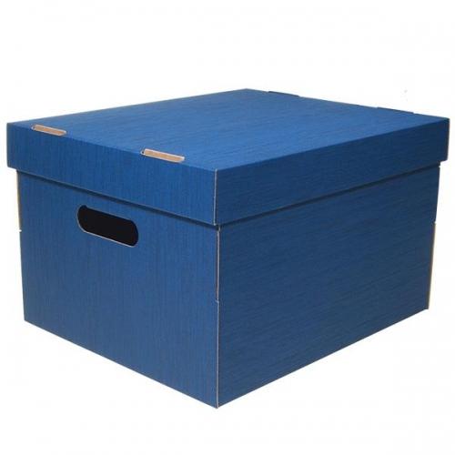 Νext κουτί fabric μπλε Α4 Υ19x30x25,5εκ.