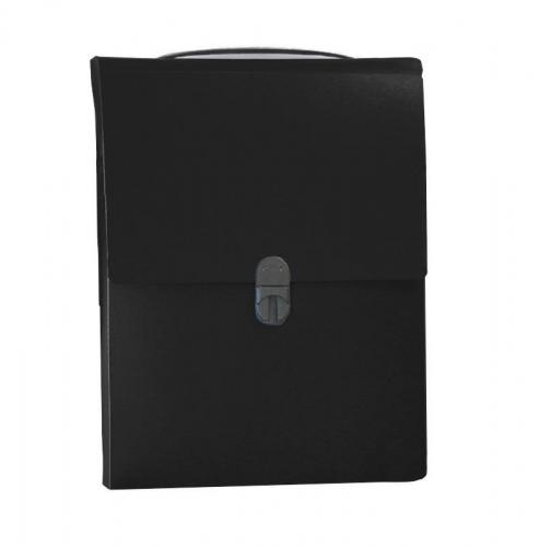 Next τσάντα συνεδρίων όρθια PP μαύρη Υ32x24x5εκ.