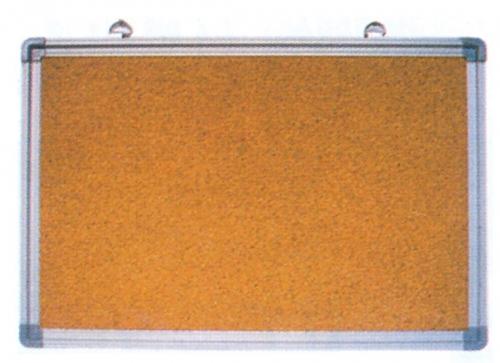 Πίνακας φελλού με πλαίσιο αλουμινίου 60x90εκ.