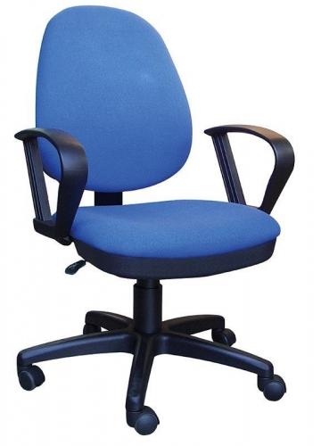 Welltrust καρέκλα τροχήλατη μπλε ψηλή πλάτη