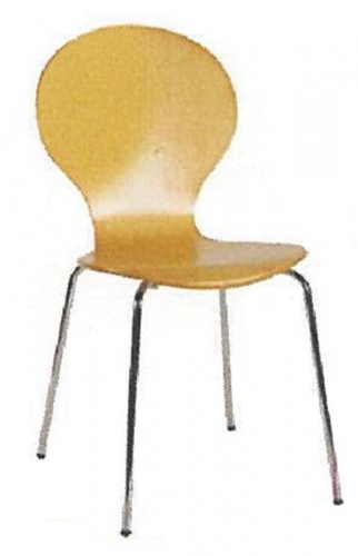 Welltrust κάθισμα αναμονής ξύλινο σκελ. inox