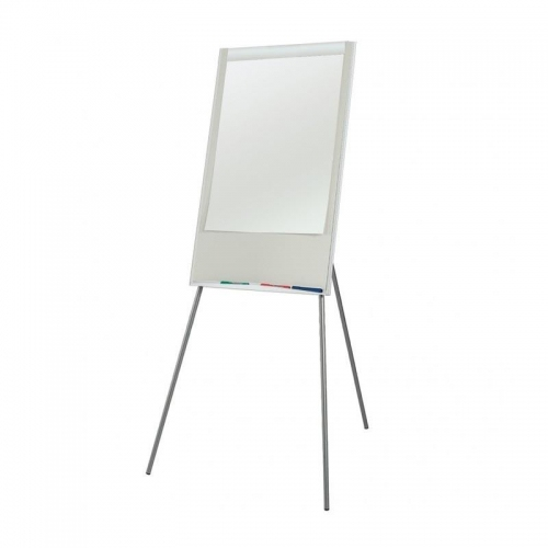 Πίνακας λευκός μαγνητικός με τρίποδα 70x100εκ.
