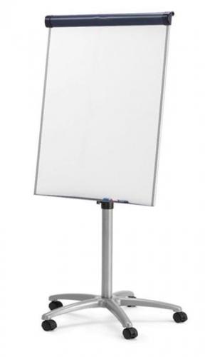 Πίνακας λευκός μαγνητικός τροχήλατος 70x100εκ.