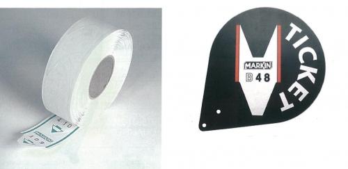 Markin ρολό ανταλλακτικό 2000 ετικετών (19544)