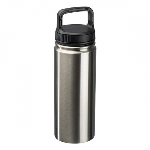 Μπουκάλι νερού μεταλλικό με πλαστικό καπάκι 550ml