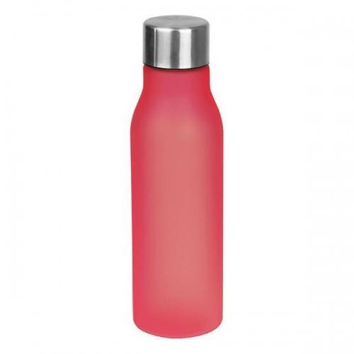 Μπουκάλι πλαστικό κόκκινο Ø6,5 εκ.