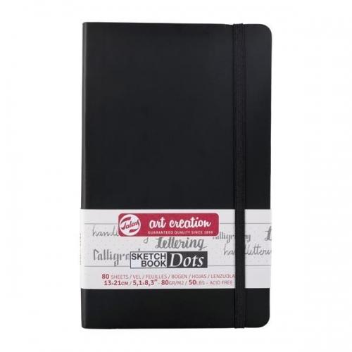 Talens Sketch book Dot μαύρο 80φυλ. 13x21εκ. 80 γρ.