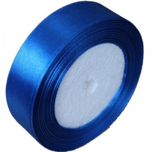 Κορδέλα σατέν με ούγια μπλε 2,5εκ. x 22μ.
