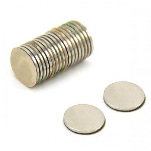 Μαγνήτης νίκελ στρόγγυλος Ø9,5χιλ.x 1,5χιλ. πακ. 100τεμ.
