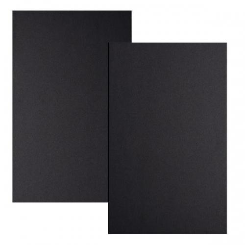 Χαρτόνι μαύρο 2 όψεις 72x100εκ. 1,5χιλ. 1000gr/m²