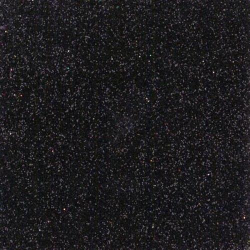Next φύλλα glitter μαύρα 50x70εκ.