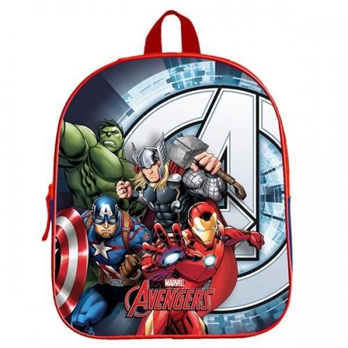 """Bagtrotter τσάντα νηπίου πλάτης """"Avengers"""" με 1 θήκη Υ31x25x11εκ."""
