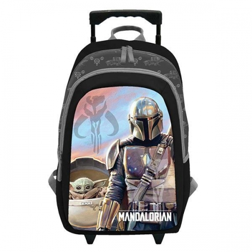 "Bagtrotter τσάντα τρόλευ ""Star Wars I""  με 2 θήκες Υ45x32x15εκ."