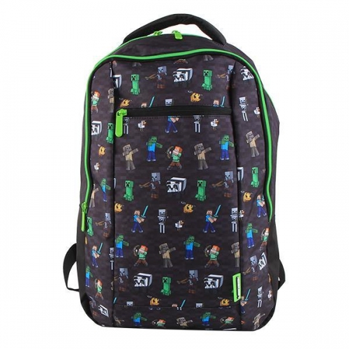 "Bagtrotter τσάντα πλάτης ""Minecraft""  με 3 θήκες Υ46x30,5x13εκ."