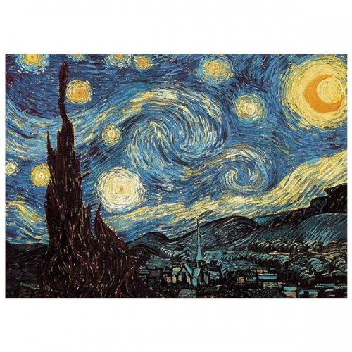 """Παζλ """"Starry night"""", 26x38εκ., 1000 τεμαχίων"""