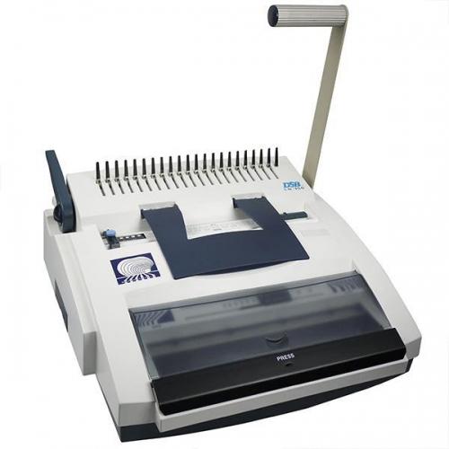 Dsb χειροκίνητη μηχανή πλαστ.- μεταλ.σπιραλ CW350 3:1