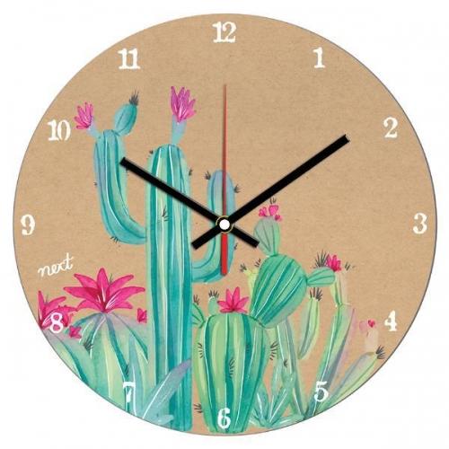 """Νext ρολόι Ø31εκ. """"cactus"""""""