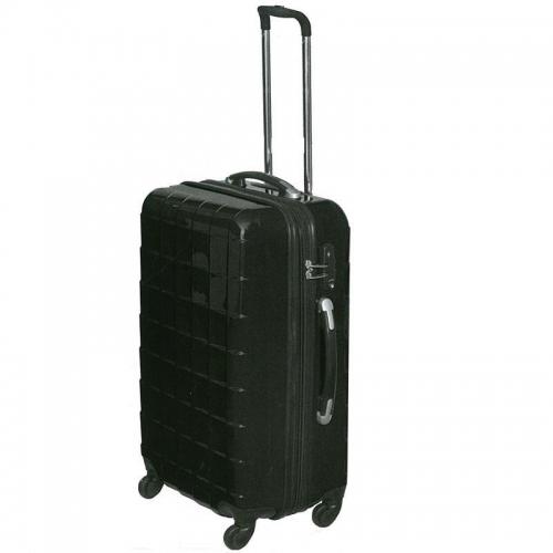 Βαλίτσα τρόλευ μαύρη 64x48x27.5εκ.