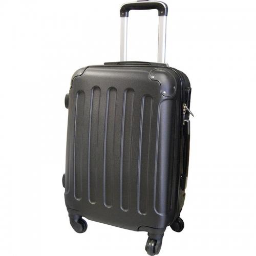 Βαλίτσα απο abs μαύρη 49x35x23εκ.