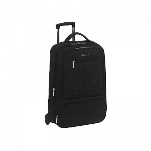 Βαλίτσα Dubai μαύρη 62x40x28εκ.