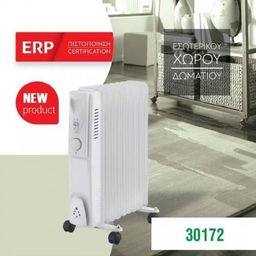 Ηλεκτρικό καλοριφέρ λαδιού-9 φέτες  40,5x54,5x24εκ. 2000W 220-240V