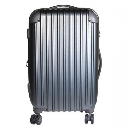 Βαλίτσα ταξιδίου μεγάλη abs γκρι Υ77x48x32εκ.
