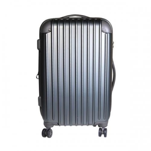 Βαλίτσα ταξιδίου μεσαία abs γκρι Υ67x43x27εκ.